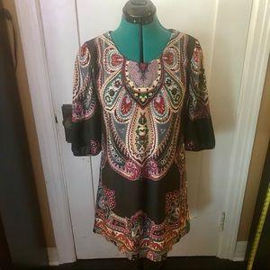 Dresses & Skirts - Paisley boho dress
